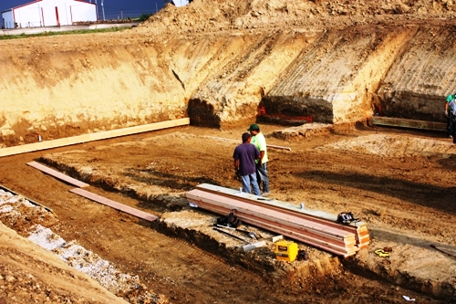 FRF Form Work for Footing