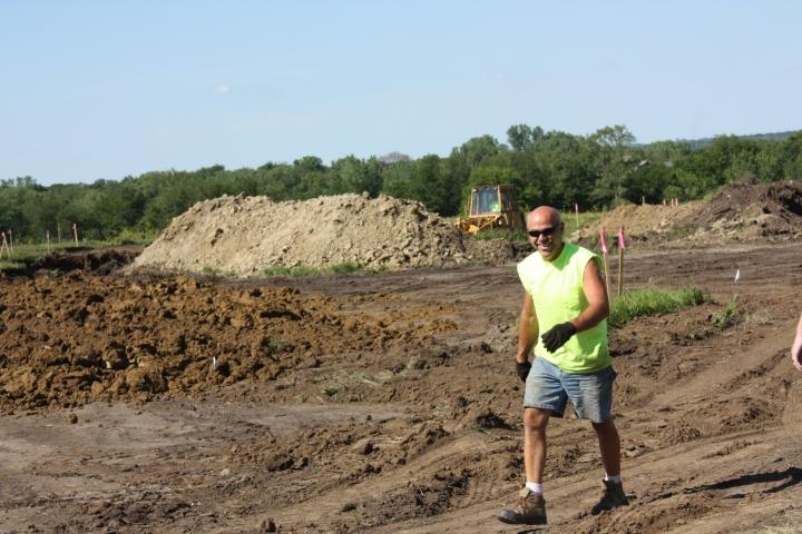 Foundation Dig Begins