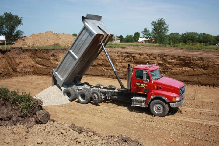 Foundation Gravel Base