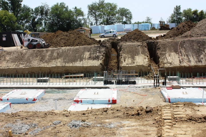 Full Revolution Farm Plumbing and Electrical Trenches are Excavated