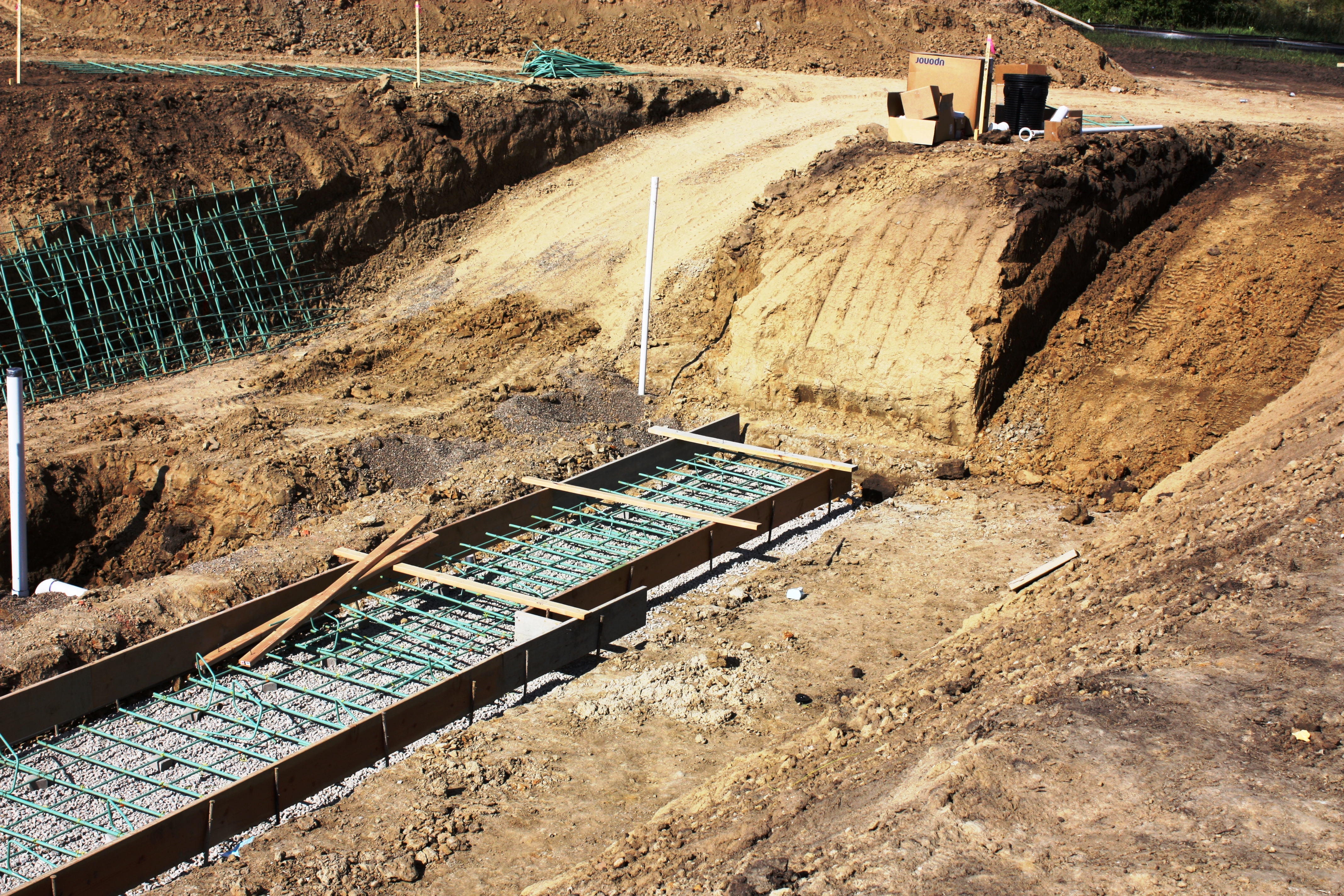 Second Ramp is Cut-in Allowing Access to South Building Excavation