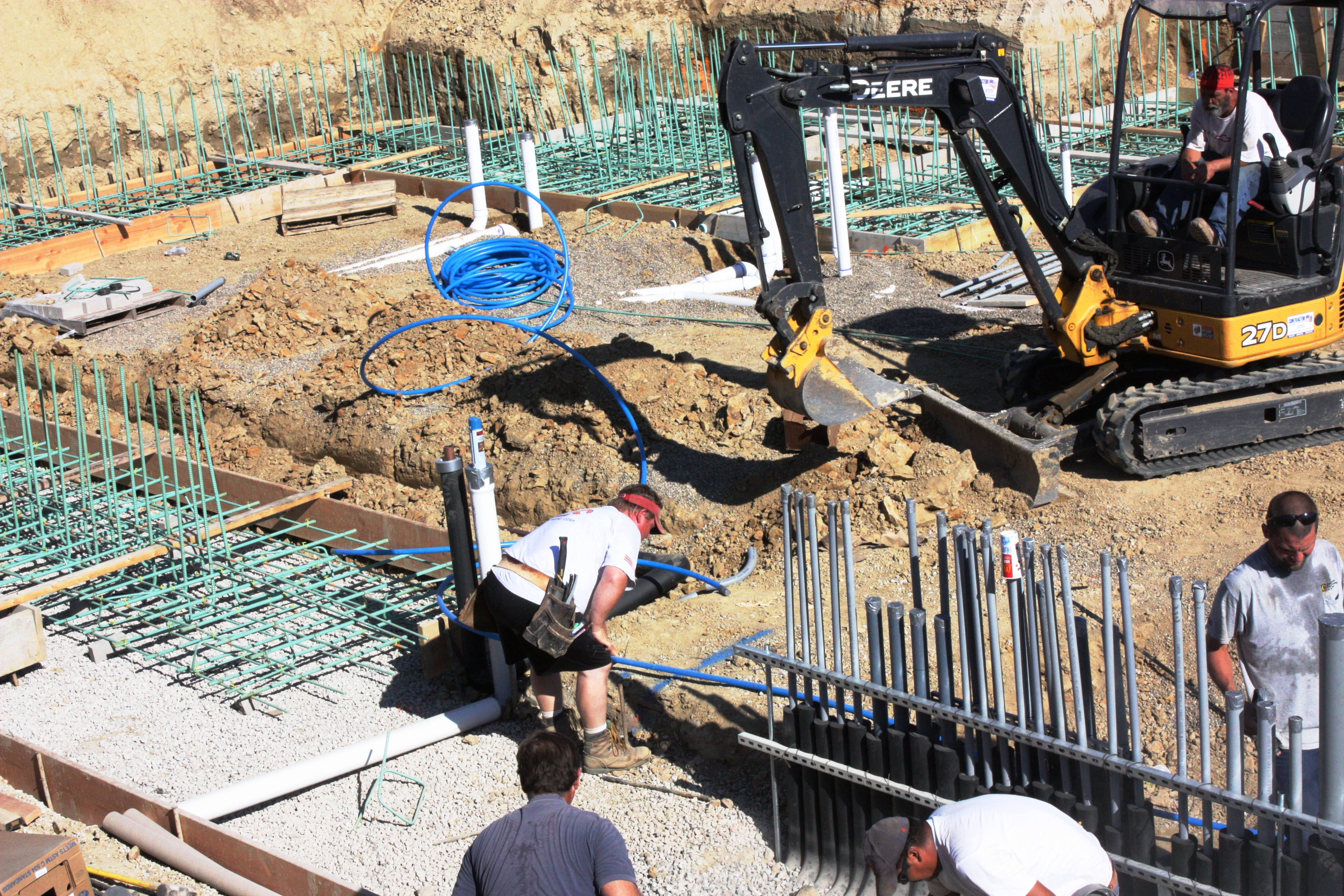 Insulated Water Lines are Installed Serving Root Cellar, Conservatory, Yard Hydrants, and the Barn